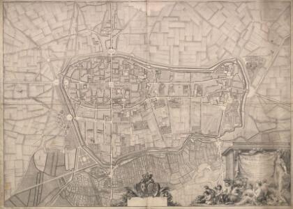 Plan general de Reims et de ses environs