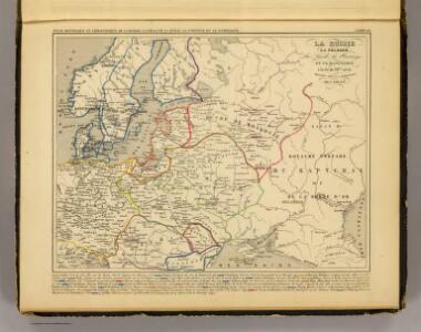 Russie, Pologne, Suede, Norwege, Danemarck , fin du XIVe. siecle.