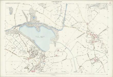 Shropshire XIII.8 (includes: Ellesmere Rural; Welshampton) - 25 Inch Map