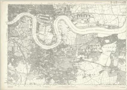 Essex LXXXI - OS Six-Inch Map