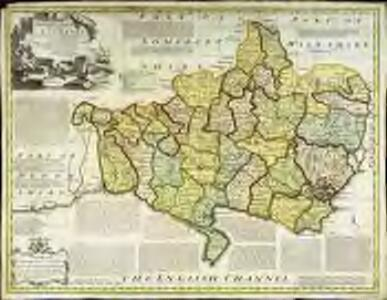 An accurate map of Dorset Shire