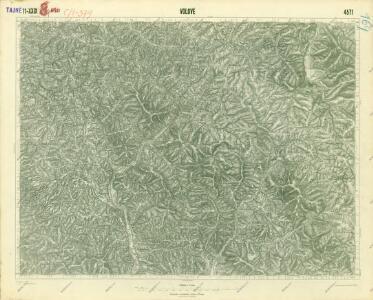 III. vojenské mapování 4571