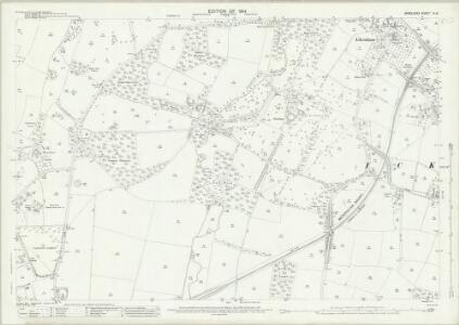 Middlesex IX.16 (includes: Uxbridge) - 25 Inch Map