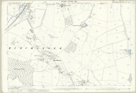 Essex (1st Ed/Rev 1862-96) XXII.12 (includes: Birchanger; Stanstead Mountfitchet) - 25 Inch Map