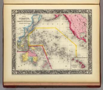 Map Of Oceanica.