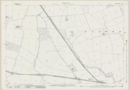 Durham XLIII.16 (includes: Elstob; Foxton And Shotton; Mordon; Preston Le Skerne; Stillington) - 25 Inch Map