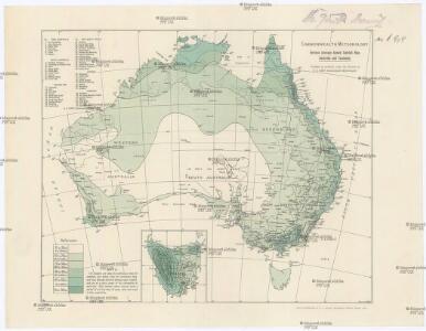 Revised average annual rainfall map