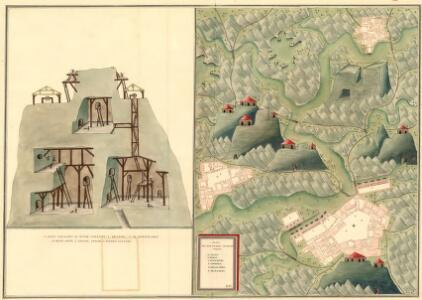 Plan des Bergwergs Szirbund
