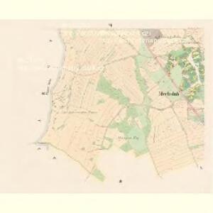 Mecholub (Měcholuby) - c4582-1-005 - Kaiserpflichtexemplar der Landkarten des stabilen Katasters