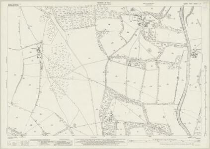 Sussex LI.9 (includes: Findon; Sullington; Washington) - 25 Inch Map