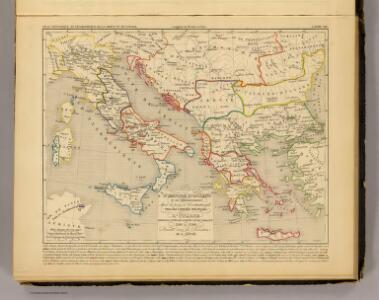 L'Empire d'Orient, l'Italie, 1200 a 1300.
