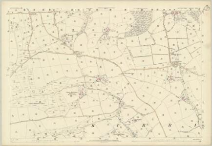 Devon XXXI.9 (includes: Burrington) - 25 Inch Map