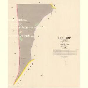 Heuhof (Sruby) - c7211-1-004 - Kaiserpflichtexemplar der Landkarten des stabilen Katasters