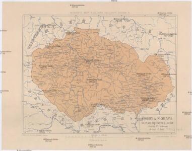 Čechy a Morava za zřízení župního ve XII. století
