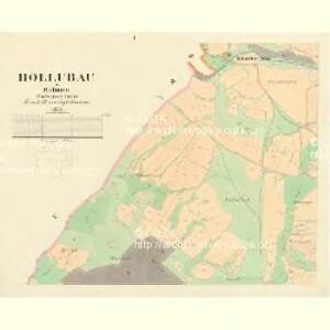 Hollubau - c1978-1-001 - Kaiserpflichtexemplar der Landkarten des stabilen Katasters