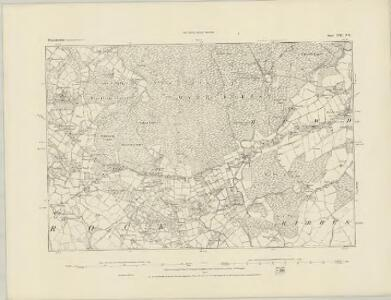 Worcestershire XIII.NW - OS Six-Inch Map