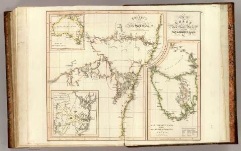 New S. Wales, Van Diemen's Land.