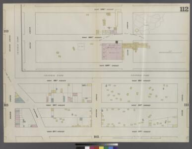 Plate 112: Map bounded by West 59th Street, Sixth Avenue, West 57th Street, Eighth Avenue