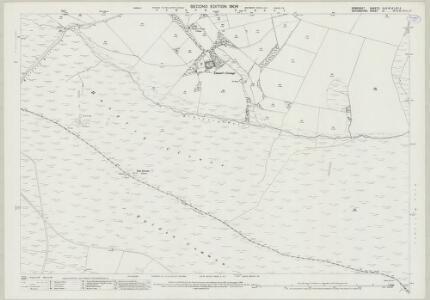 Somerset XLIV.16 & LIVA.4 (includes: Exmoor; North Molton) - 25 Inch Map