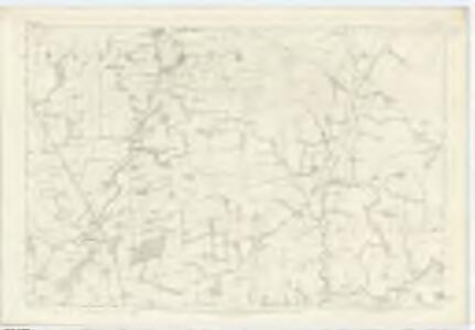 Dumfriesshire, Sheet XLIII - OS 6 Inch map