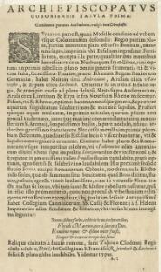 Archiepiscopatus Coloniensis Pars Septentrionalis