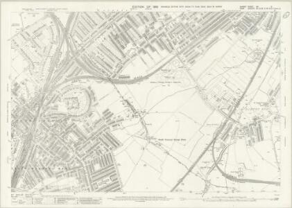 Surrey XIV.3 (includes: Beckenham; Croydon St John The Baptist; Penge) - 25 Inch Map