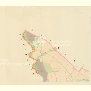 Unter Grischau - c1386-1-001 - Kaiserpflichtexemplar der Landkarten des stabilen Katasters