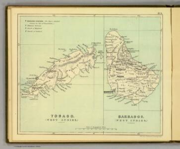 Tobago; Barbados.