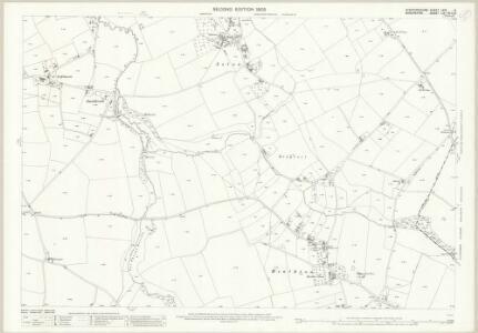Staffordshire LXVI.6 (includes: Bobbington; Claverley) - 25 Inch Map