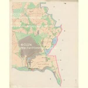 Plawsko - c5821-1-006 - Kaiserpflichtexemplar der Landkarten des stabilen Katasters