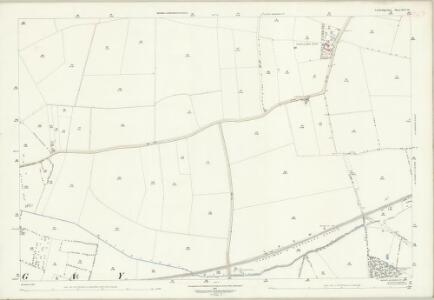 Cambridgeshire XLV.14 (includes: Gamlingay; Hatley St George; Little Gransden) - 25 Inch Map