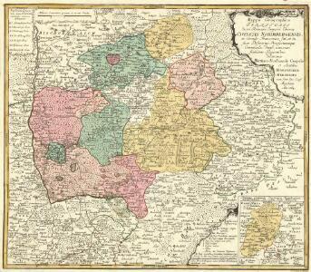 Mappa Geographica Territorii Sacri Romani Imperii liberae Civitatis Norimbergensis