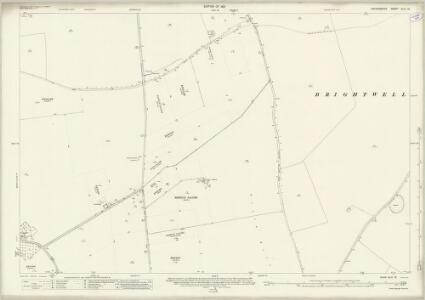 Oxfordshire XLVI.16 (includes: Benson; Berrick Salome; Brightwell Baldwin; Ewelme; Newington) - 25 Inch Map