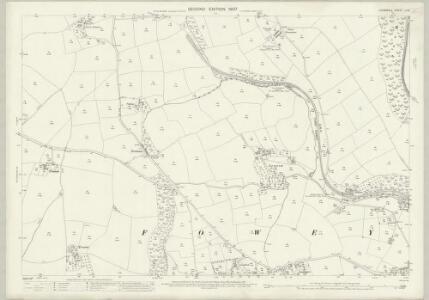 Cornwall LI.8 (includes: Fowey; Lanteglos) - 25 Inch Map