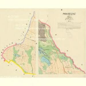 Poschezau - c0443-1-003 - Kaiserpflichtexemplar der Landkarten des stabilen Katasters