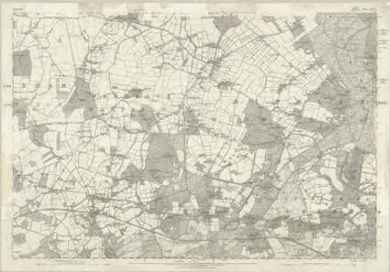 Berkshire XXXII - OS Six-Inch Map