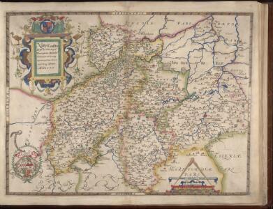 NORTHANTON Bedfordiae Cantabrigiae, Huntingdoniae et Rutlandiae Comitatum