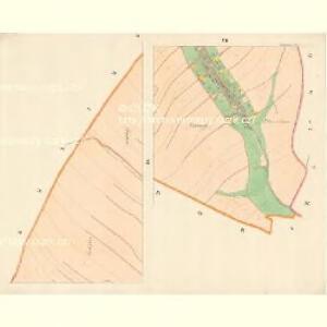 Klantendorf (Kuganow) - m1417-1-005 - Kaiserpflichtexemplar der Landkarten des stabilen Katasters