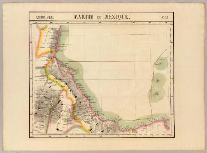 Partie du Mexique. Amer. Sep. 65.