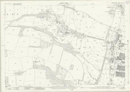Hertfordshire XXXVI.16 (includes: Brickendon Liberty; Cheshunt; Hoddesdon) - 25 Inch Map