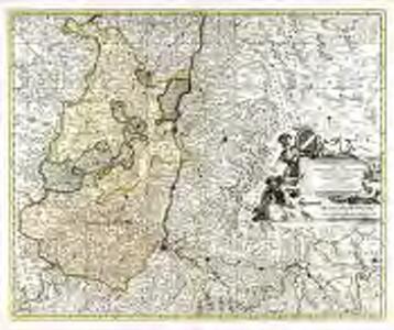Superioris Alsatiæ nec non Brisigaviæ et Suntgaviæ geographica tabula