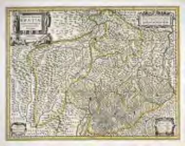 Alpinæ seu fœderatæ Rhætiæ subditarumque ei terrarum nova descriptio