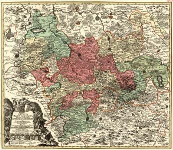 Ducatus Brunsuicensis juxta tres suos Principatus Calenbergic. nimir. et Grubenhagens.