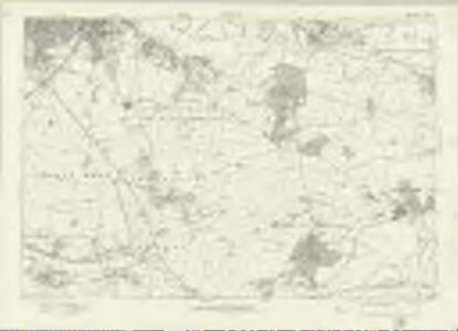 Derbyshire LV - OS Six-Inch Map