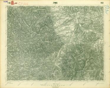 III. vojenské mapování 4162