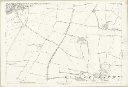 Oxfordshire XVI.9 (includes: Duns Tew; Middle Aston; North Aston; Steeple Aston; Steeple Barton; Westcott Barton) - 25 Inch Map