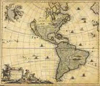 Novissima et accuratissima totius Americæ descriptio
