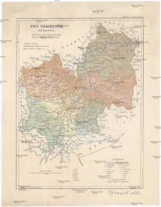 Ung vármegye térképe