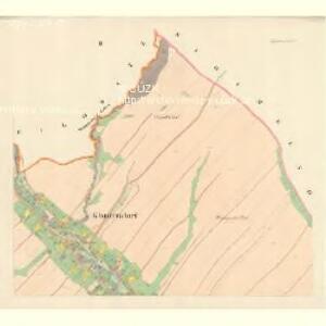 Klantendorf (Kuganow) - m1417-1-002 - Kaiserpflichtexemplar der Landkarten des stabilen Katasters