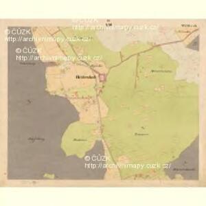 Glöckelberg - c9317-3-008 - Kaiserpflichtexemplar der Landkarten des stabilen Katasters
